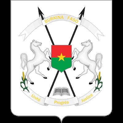 Coat of arms - Flags - Emblem - Logo Gambar Lambang, Simbol, Bendera Negara Burkina Faso