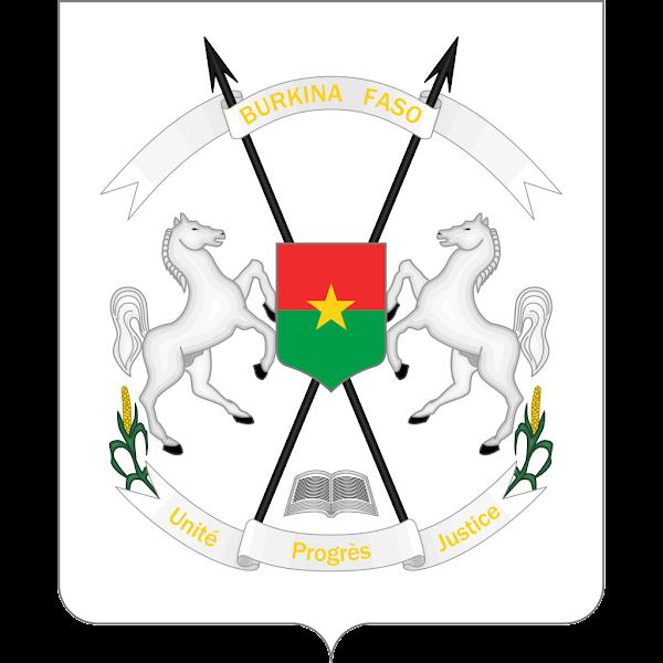 Logo Gambar Lambang Simbol Negara Burkina Faso PNG JPG ukuran 600 px