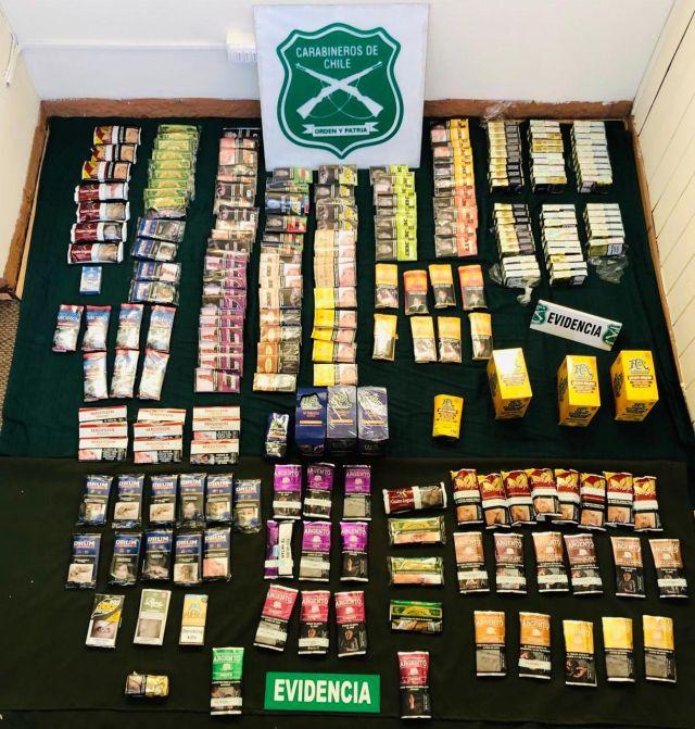 🚨 Osorno: Detenidos por el delito de contrabando de tabaco