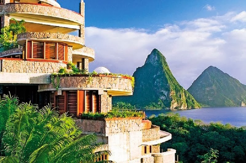Vacation Of The Lifetime At Jade Mountain In St Lucia
