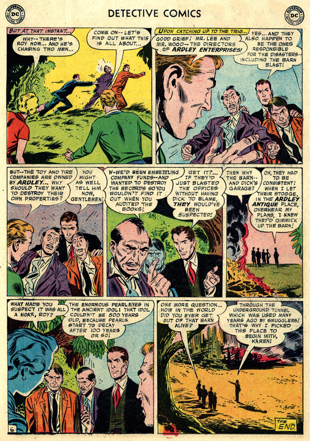 Read online Detective Comics (1937) comic -  Issue #258 - 23