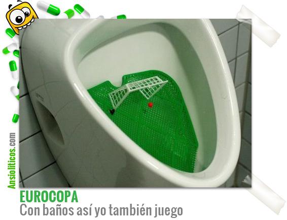 Chiste Eurocopa: Baños