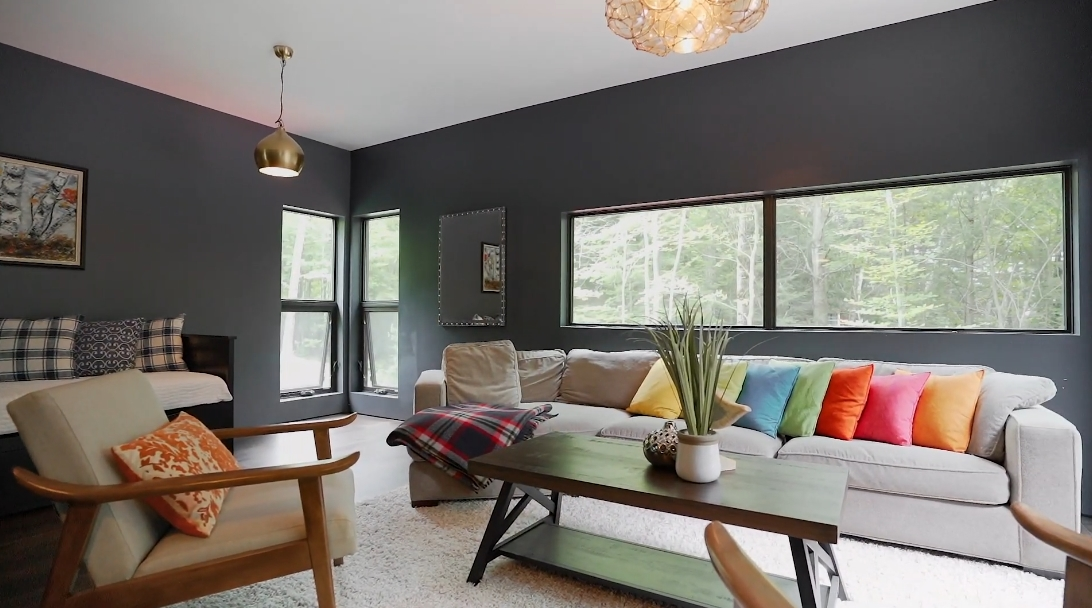 15 Photos vs. 1533 Livingstone Lake Rd, Dorset, ON Interior Design Luxury Home Tour