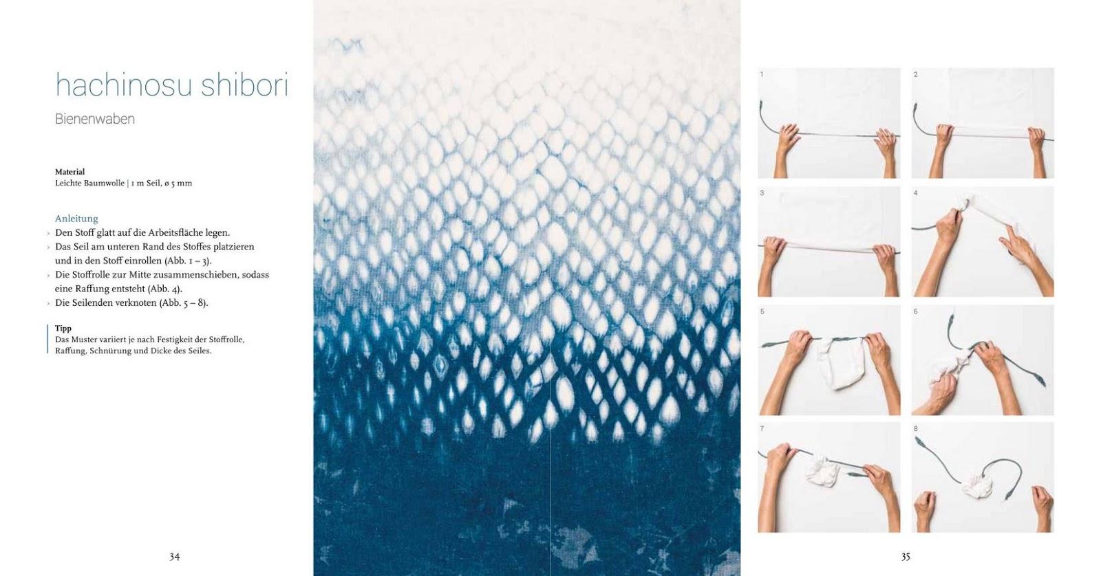 rezension: shibori. traditionelles färben neu interpretiert