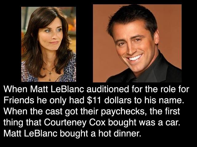 Leaky Squid: TALK ABOUT RAGS TO RICHES #MATTLEBLANC  Leaky Squid: TA...