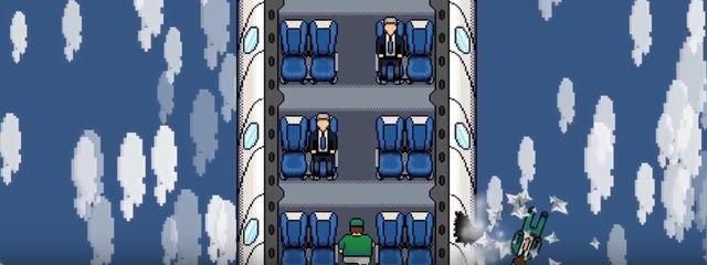 Crean un juego que parodia al desalojo del pasajero de United Airlines