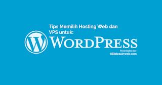 hosting wordpress, web hosting wordpress, memilih hosting, web wordpress