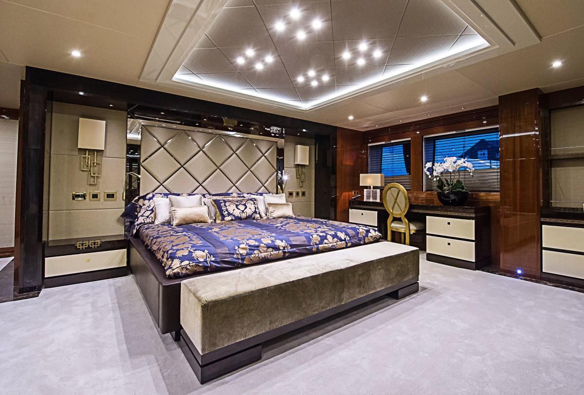 luxury bedroom interior design | gregonews: Luxury Yacht Interior Design - #interiordesign ...