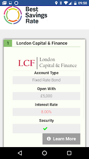 London Capital Finance ISA Savings Bond reviews