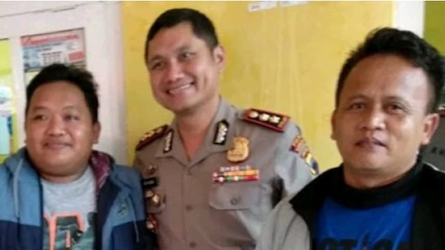 Dua Wartawan dapat Umroh Gratis dari Polres Kebumen