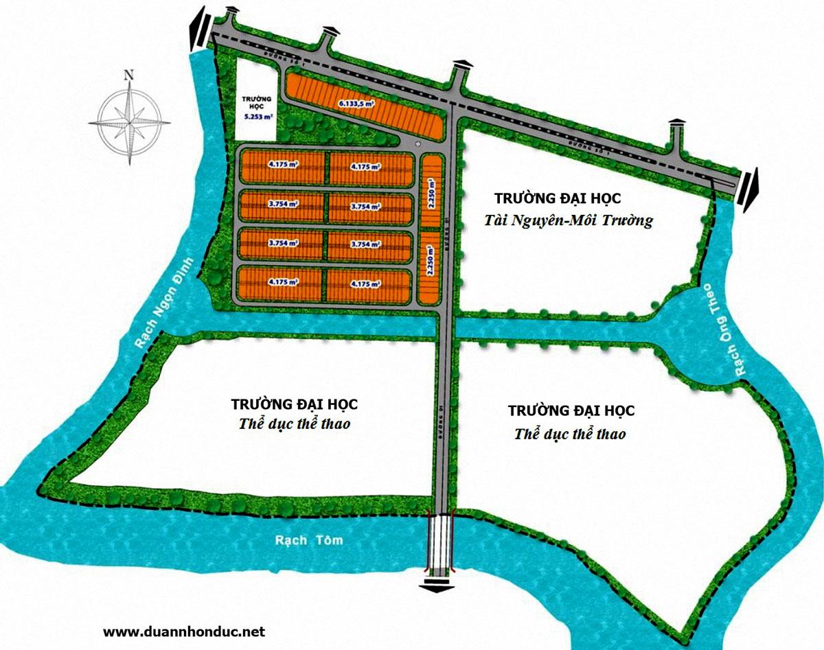 Trọng điểm dự án đất nền giáp ranh Nam Sài Gòn
