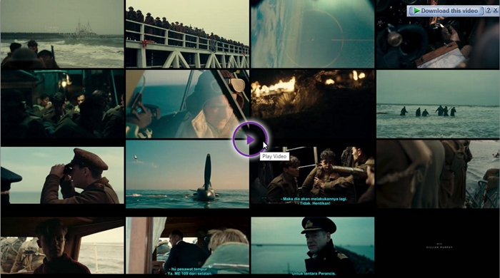 Screenshots Download Film Gratis Dunkirk (2017) BluRay 480p MP4 Subtitle Indonesia 3GP Nonton Film Gratis Free Full Movie Streaming