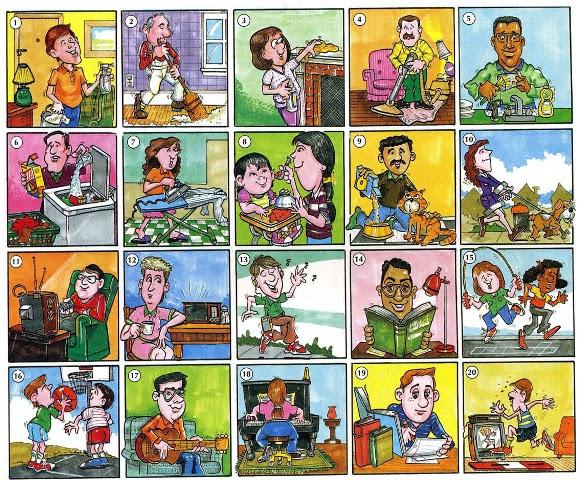 Mirzan Blog S 20 Inspirasi Gambar Kartun Aktivitas Sehari Hari Di Sekolah