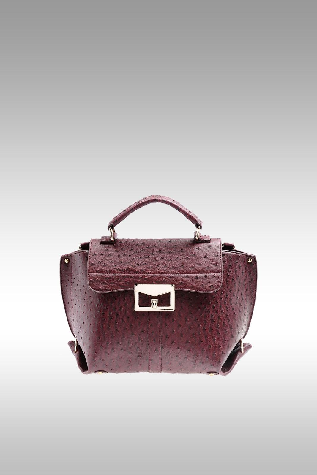 Pedro Ostrich Handbag