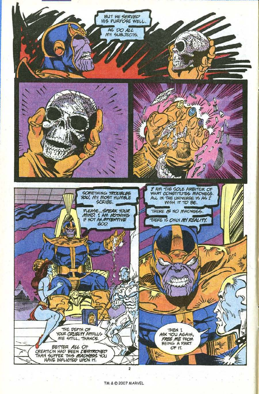 Read online Silver Surfer (1987) comic -  Issue #56 - 4