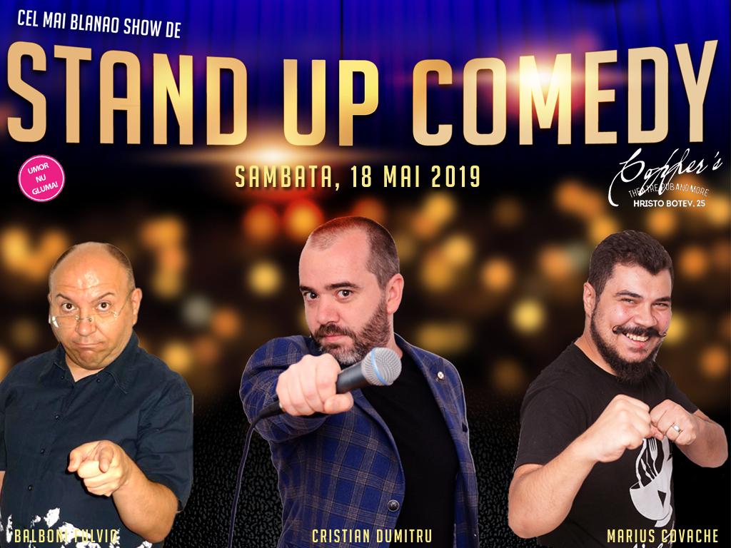 Stand-Up Comedy Bucuresti Sambata 18 Mai 2019