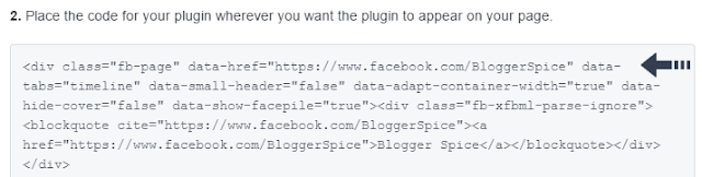 HTML code for plugin
