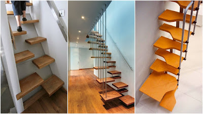 space saving spiral staircase design for small homes