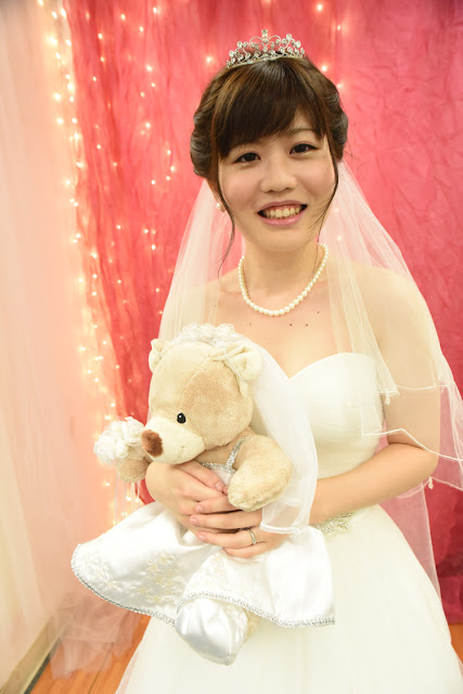 Teddy Bear Bride