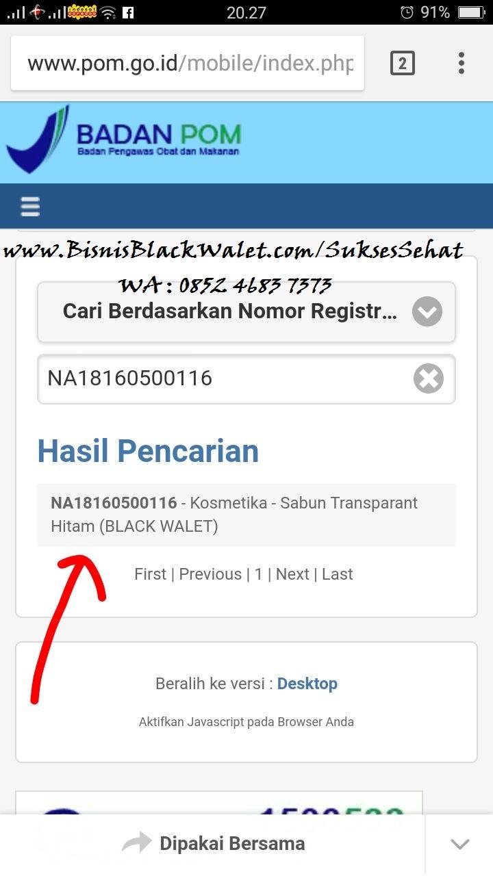 Sabun Blackwalet Malinau Kalimantan Utara Hp 085246837373 Muka Black Walet Pada Facial Soap Ini Sudah Dilengkapi Iji Dari Bpom Dengan Nomor Registrasi Na18160500116 Yang Artinya Bahwa Telah Lolos Uji Lab