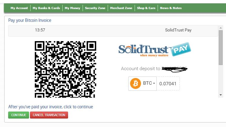cryptocurrency exchange paypal to solidtrustpay