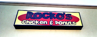 Rocko's Chicken and Donuts sign