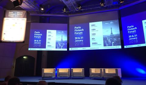 Scène principale du Paris FinTech Forum