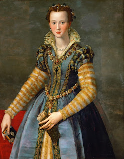 Eleonora, as depicted by the 16th century portrait painter Alessandro Allori
