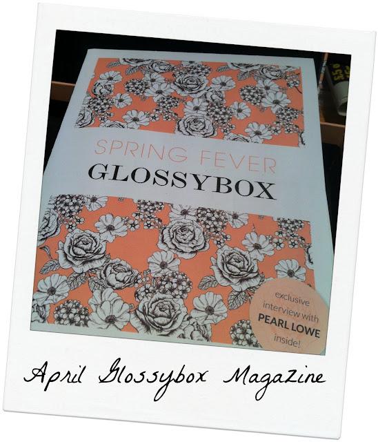 April Glossybox - Spring Fever