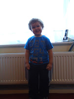 Big Boy on 1st Day at School 2011