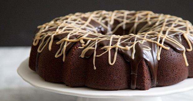 Peanut Butter Chocolate Bundt Cake Recipe