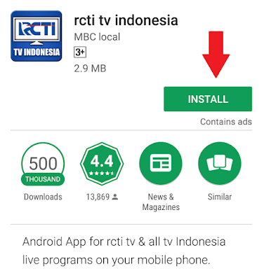 Cara Nonton Tv Online Streaming di Hp Android