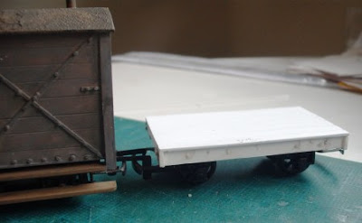 7mm narrow gauge flat wagon