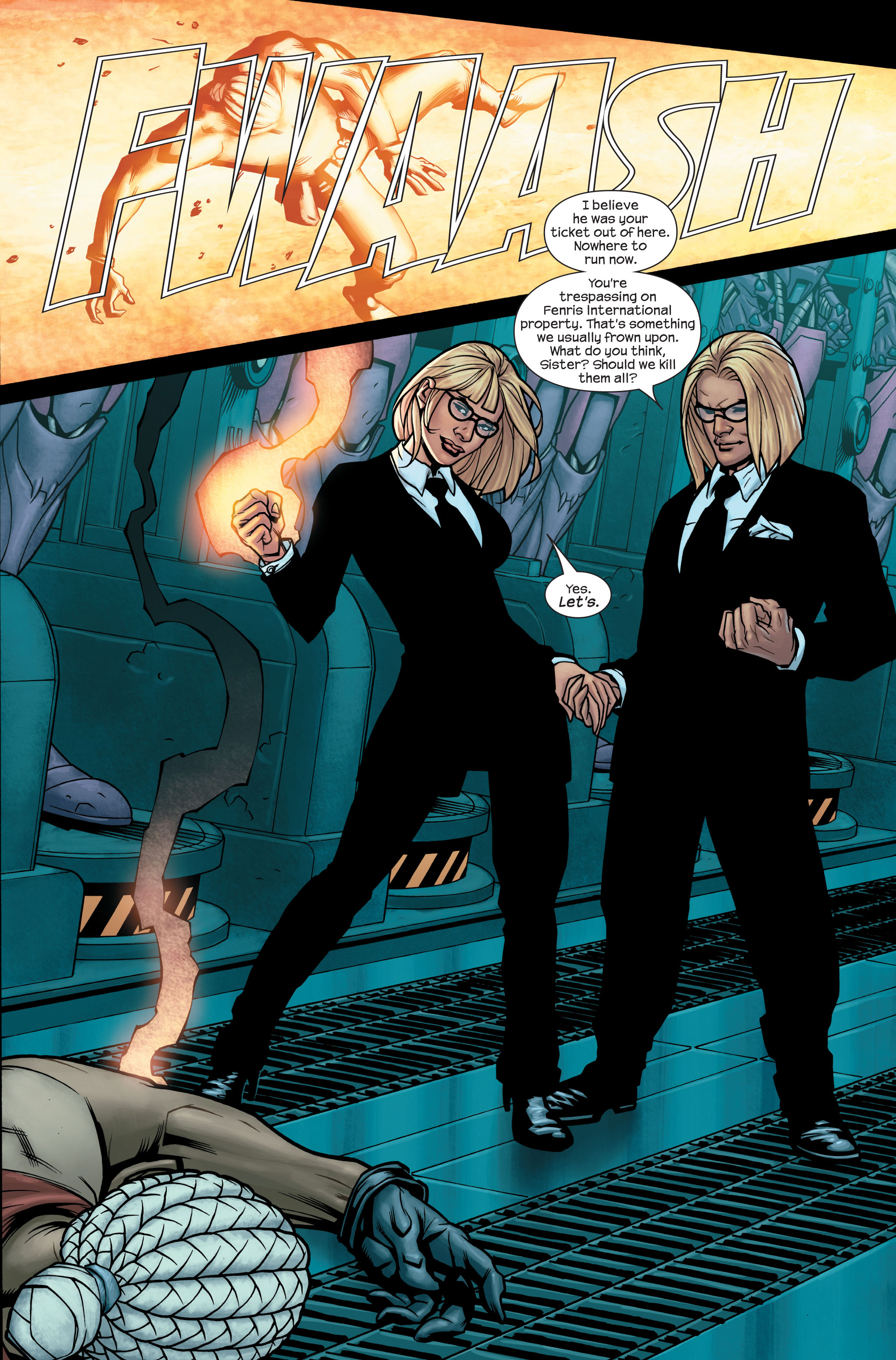 Read online Ultimate X-Men comic -  Issue #85 - 22