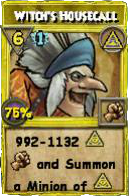 Wizard101 Polaris Level 108 Spells Witch's Housecall