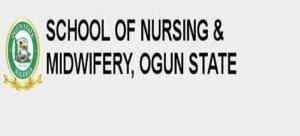 Ogun State School of Nursing and Midwifery Admission List 2019