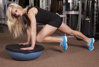 Rodilla Plank, ejercicios para eliminar grasa lateral