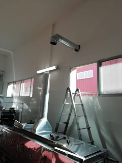 sistema de aspiración de humos trabajos de soldadura