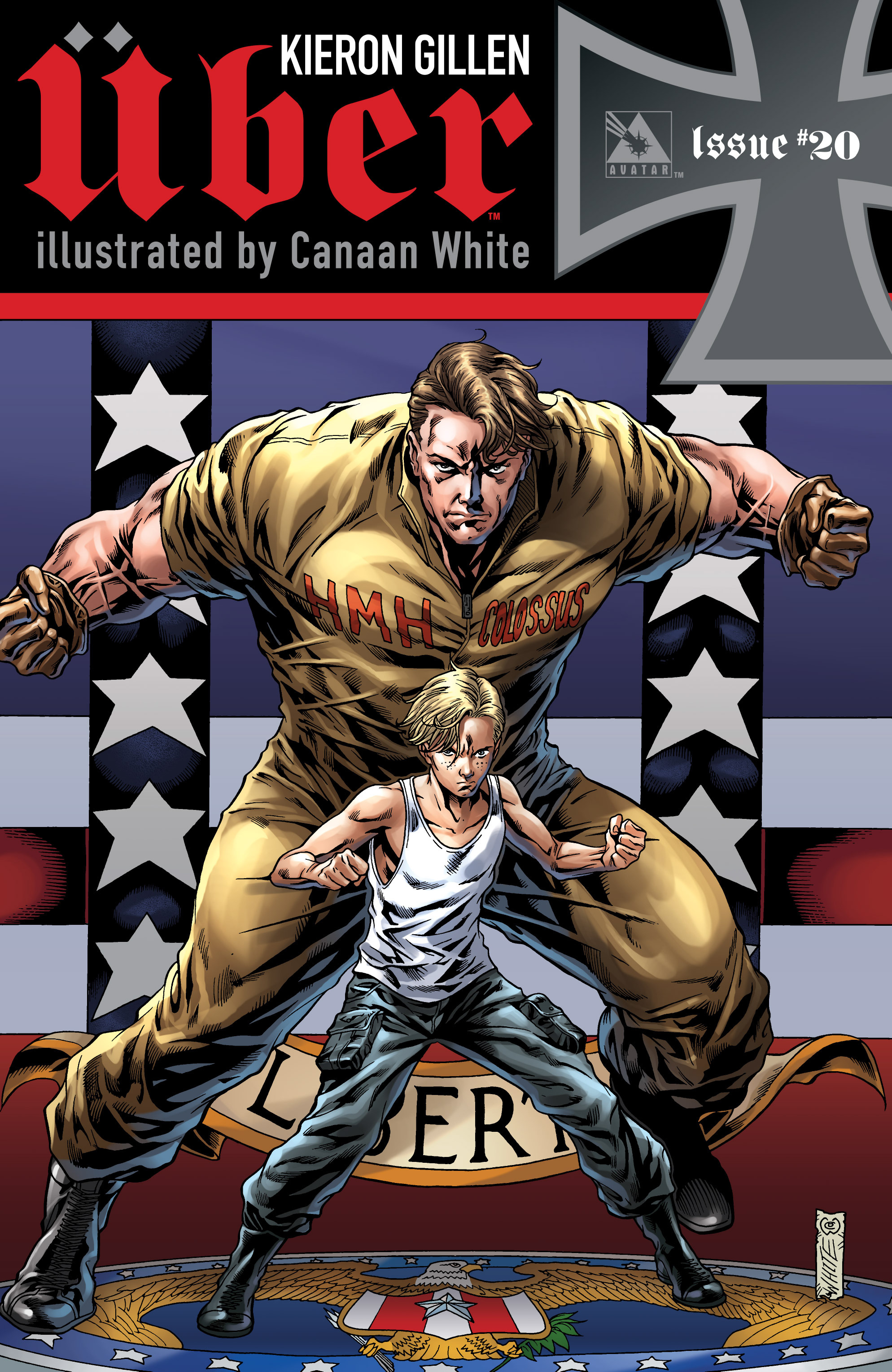 Read online Uber comic -  Issue #20 - 1