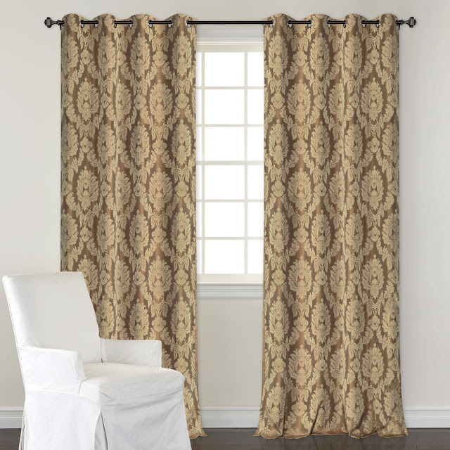 Blackout Curtain  Burnt Leaf_Mystique Brown