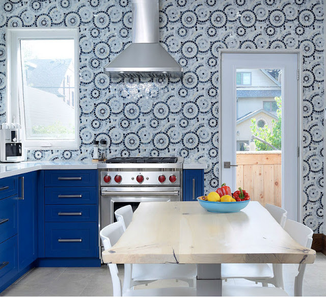 Cement Tile Backsplash Toronto