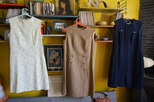 des robes années 60 et 70  1960s & 1970s dresses