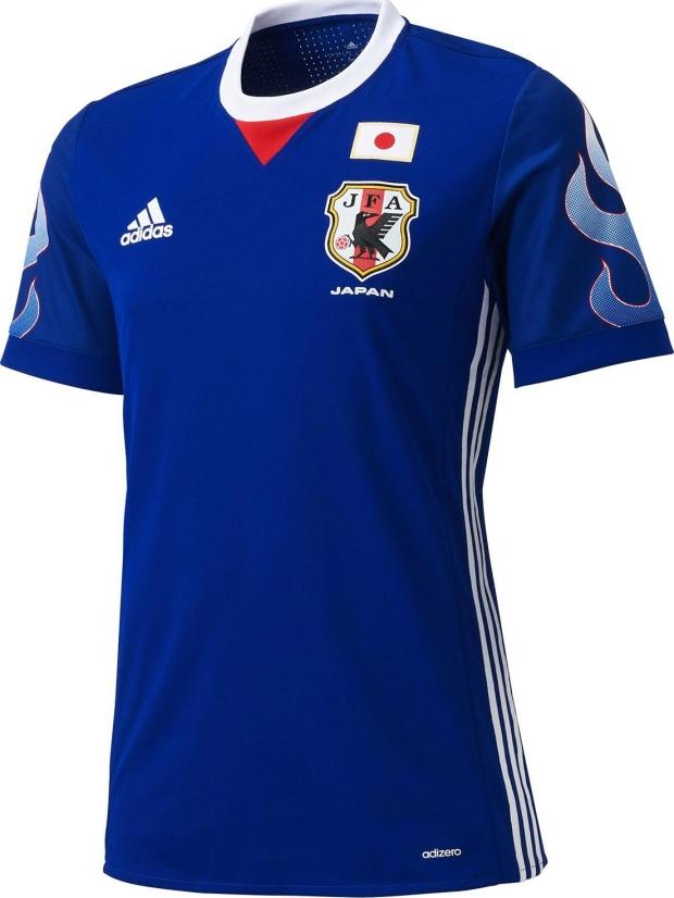 Adidas lança nova camisa titular da seleção do Japão - Show de Camisas a2c3a1480e76f