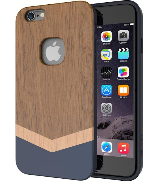 iPhone 8 real wood case
