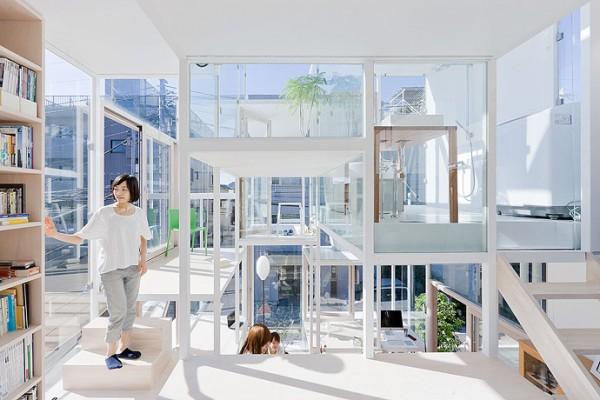 modern house transparent house design-2