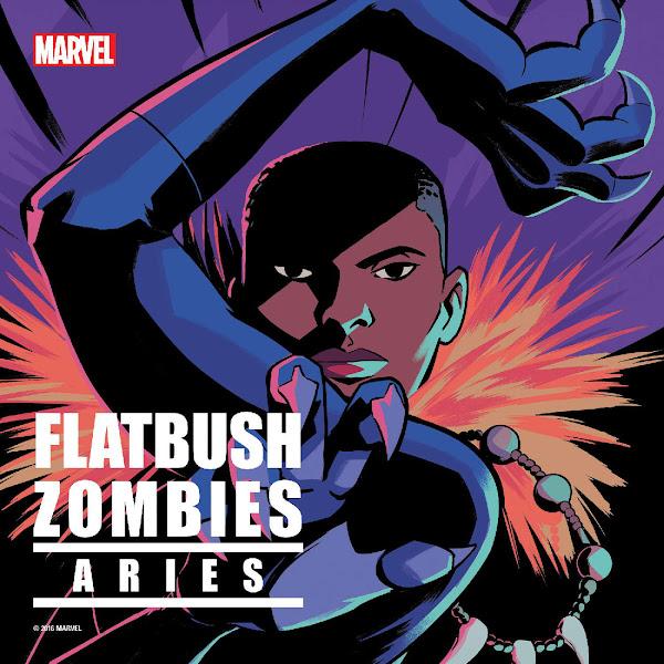 Flatbush Zombies - Aries (feat. Deadcuts) - Single Cover