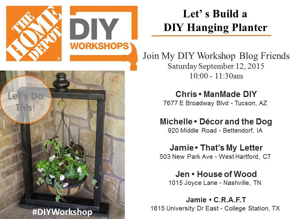 Anahikristian Home Depot Workshop Diy Vertical Planter