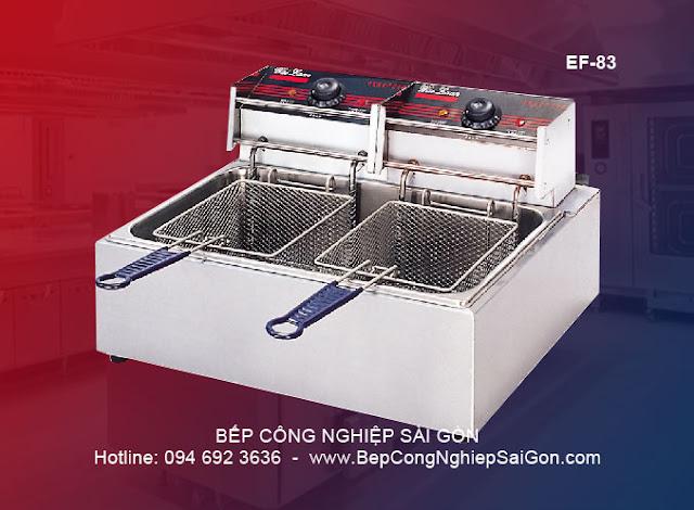 Bếp chiên nhúng đôi EF - 83