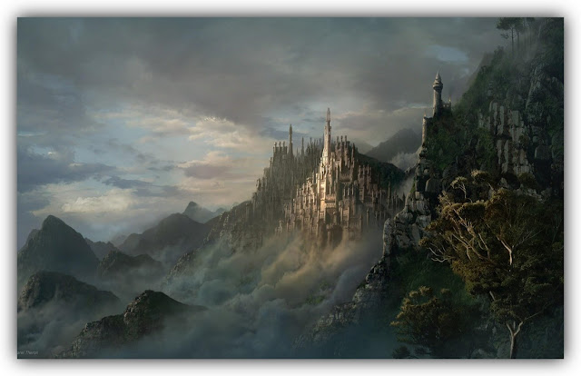 Citadel of Paradise on Mountain Top