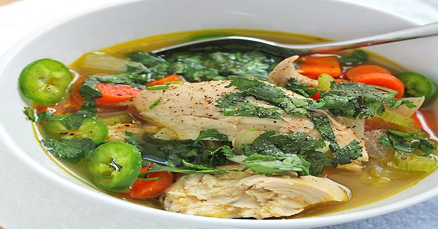 Jalapeno Chicken Soup Recipe